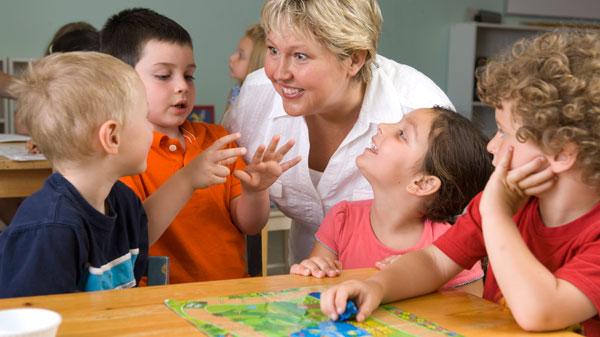 Мастер класс по общению с детьми