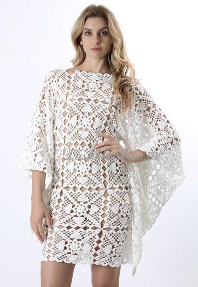 платье_вязаное