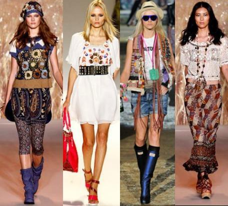 Хиппи Стиль Одежды