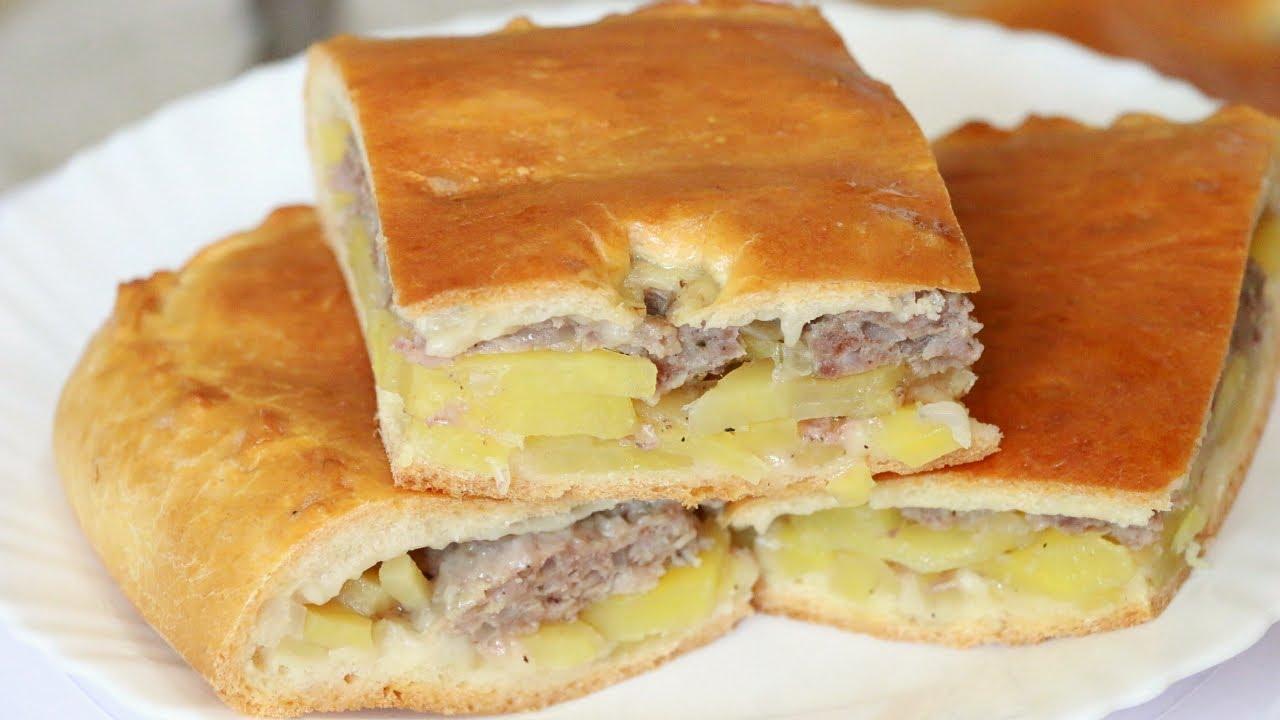 Рецепт пирожков в духовке с фаршем